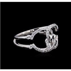 0.24 ctw Diamond Ring - 14KT White Gold