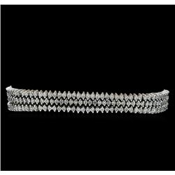 4.83 ctw Diamond Bracelet - 14KT White Gold