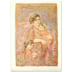 Mona and Family by Hibel (1917-2014)