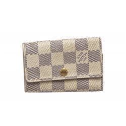 Louis Vuitton Damier Azur 6 Key Holder Wallet