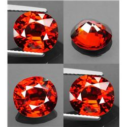 Natural Orange Spessartite Garnet 4.30ct - VVS