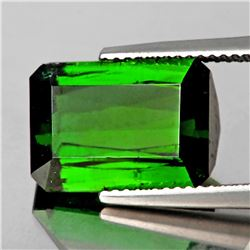 Natural Chrome Green Tourmaline 3.54 Cts - Flawless