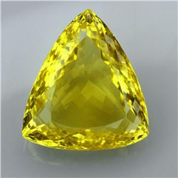 Natural Lemon Citrine Gemstone 38.45 Carats - VVS
