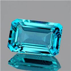 Natural Intense Blue Zircon 3.45 Ct {Flawless}