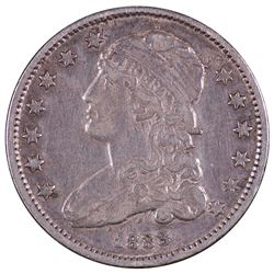 1833 Liberty Capped Bust Quarter Coin