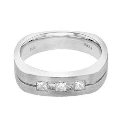 14KT White Gold 0.41ctw Diamond Ring