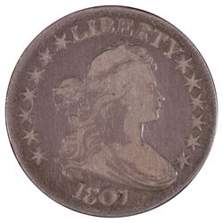 1807 Draped Bust Half Dollar Coin