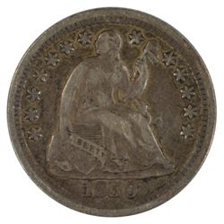 1850-O Liberty Seated Half Dime Coin