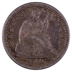 1850 Liberty Seated Half Dime Coin