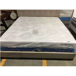 KING SIZE SIERRA SLEEP MEMORY FOAM MATTRESS & BOX SPRING SET