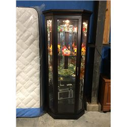 BUHLER GLASS FRONT DISPLAY CABINET