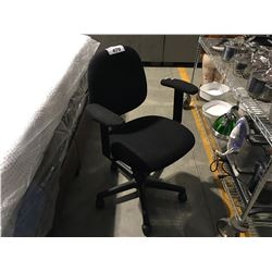 BLACK GAS LIFT OFFICE CHAIR