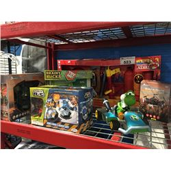 GROUP OF 6 ASSORTED KIDS TOYS