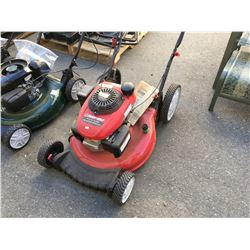 TROY-VILT BUILT GAS POWERED LAWN MOWER (MAY REQUIRE PARTS & REPAIR)
