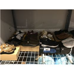 13 PAIRS OF ASSORTED SHOES (SANDALS, RUNNERS, LOAFERS) WOMENS & MENS