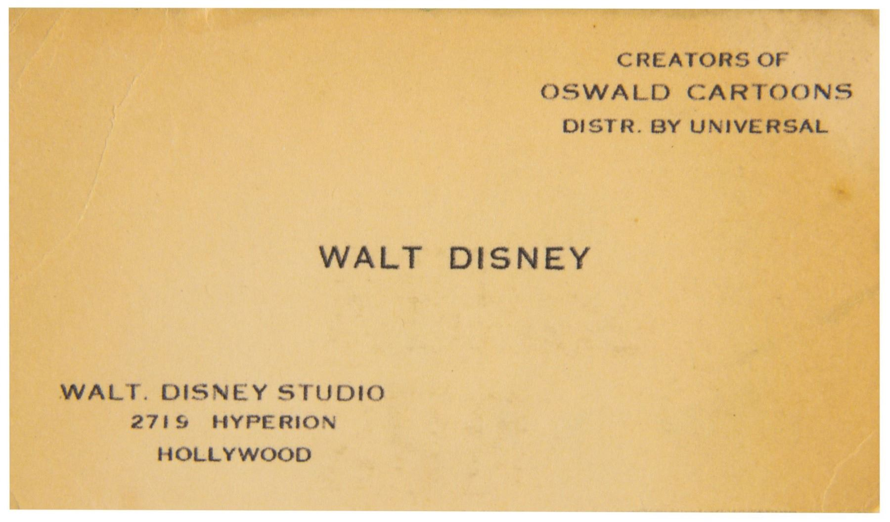 Walt disney business card colourmoves