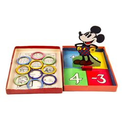 Mickey Mouse Quoit Game in Box.