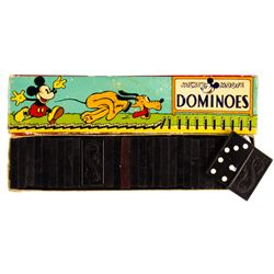 Mickey Mouse Dominoes.