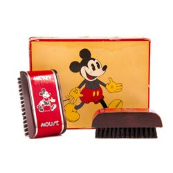 Pair of Mickey Mouse Shoe Brushes.