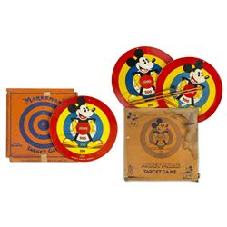 Collection of Mickey Mouse Target Games.