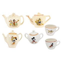 6-Piece Disney Character Tea Set.