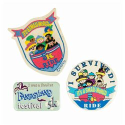 Collection of Disneyland 5K Event Items.