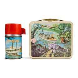 Vintage Disneyland Lunchbox and Thermos.
