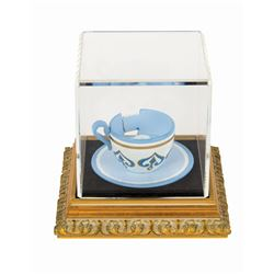 "Limited Edition ""Mad Tea Party"" Tea Cup Replica."