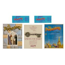Collection of (5) New Fantasyland Promo Goods.