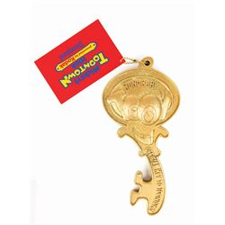 "Mickey's Toontown ""Official Key to Toontown"" Award."