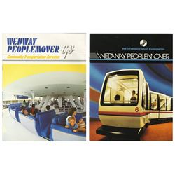 Pair of WEDway PeopleMover Manuals.