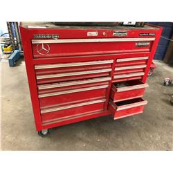 BYNFORD PRO 11 DRAWER MOBILE TOOL CABINET