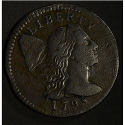 1795 LIBERTY CAP LARGE CENT XF