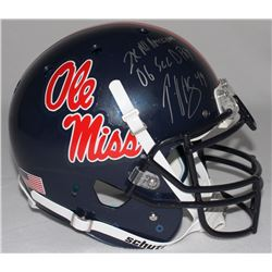 """Patrick Willis Signed Ole Miss Full-Size Authentic Proline Helmet Inscribed """"2x All American""""  """"06 S"""