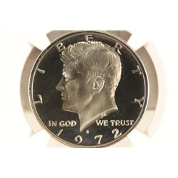 1972-S KENNEDY HALF DOLLAR NGC PF69 STAR