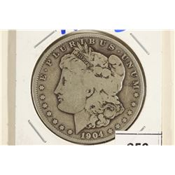 1904-S MORGAN SILVER DOLLAR BETTER DATE
