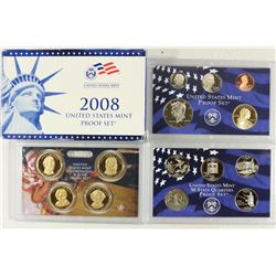 2008 US PROOF SET (WITH BOX) 14 PIECES