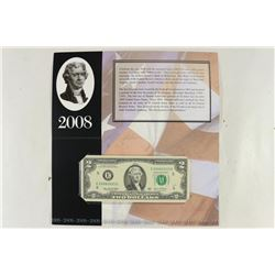 2003-A RICHMOND $2 FRN SERIAL STARTS 2008