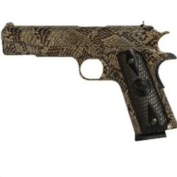 Iver Johnson Copperhead Snakeskin, 1911A1, .45ACP, NEW IN BOX, 8 Shot