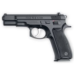 """CZ 75B 9mm, 16 shot, 4.7""""BRL, Steel Frame with Black Polycoat Finish, NEW IN BOX"""