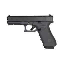 """GLOCK G17 9mm, 17 Shot, 4.49""""BRL, Fixed Sights, NEW IN BOX, GRAY Polymer, 3 mags"""