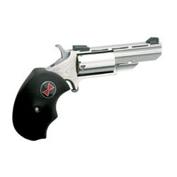 """North American Arms, Black Widow, Single Action, 22LR, 2"""" BRL, Stainless Steel Frame"""