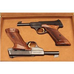 CASED SET OF BELGUIM BROWNING CHALLENGERS