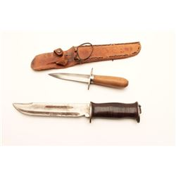 2 'IN THEATURE' KNIVES