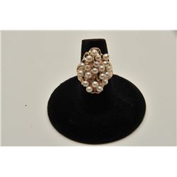 OLD FASHIONED PEARL RING