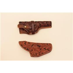 TOOLED VINTAGE HOLSTER