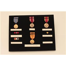 MEDAL & RIBBON DISPLAY