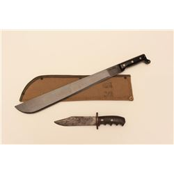 ONTARIO KNIFE CO. MACHETE & FN KNIFE
