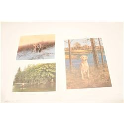 LOT OF 3 COLOR PRINTS