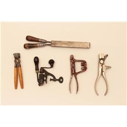 BONANZA  ANTIQUE RELOADING TOOL LOT